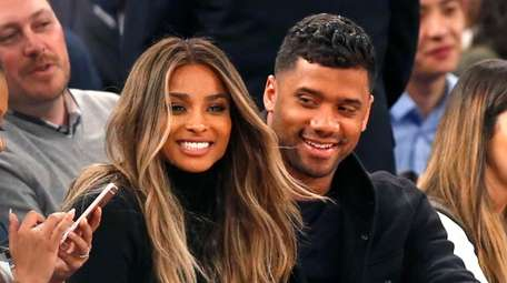Ciara and Russell Wilson are now parents to