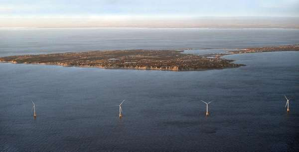 1st US offshore wind farm powering more of Rhode Island