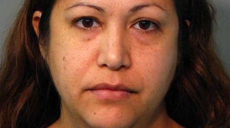 Hilda Mejia, 37, of Carle Place, was arrested