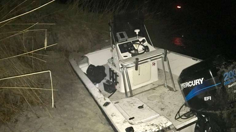 Suffolk County Police Marine Bureau officers rescued seven