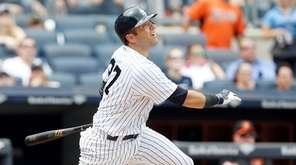 Austin Romine #27 of the New York Yankees