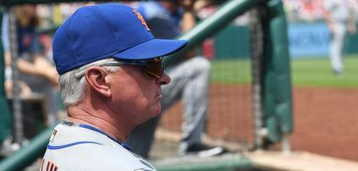 Manger Terry Collins #10 of the New York