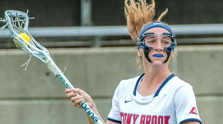 Stony Brook's Kylie Ohlmiller (17) during the Stony