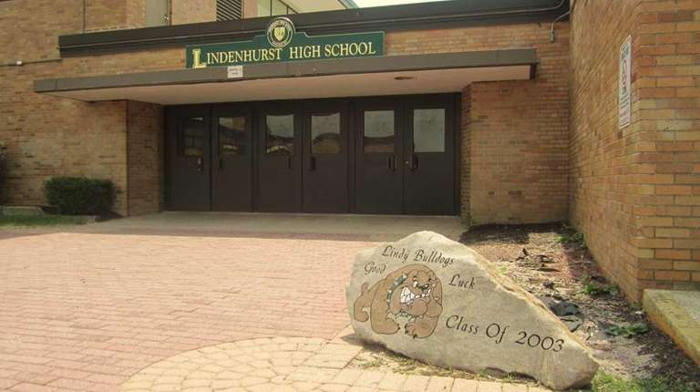 Lindenhurst High School is pictured in a file