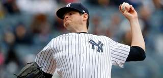 Jordan Montgomery #47 of the New York Yankees