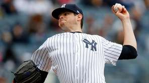 Jordan Montgomery #47 of the New York Yankees