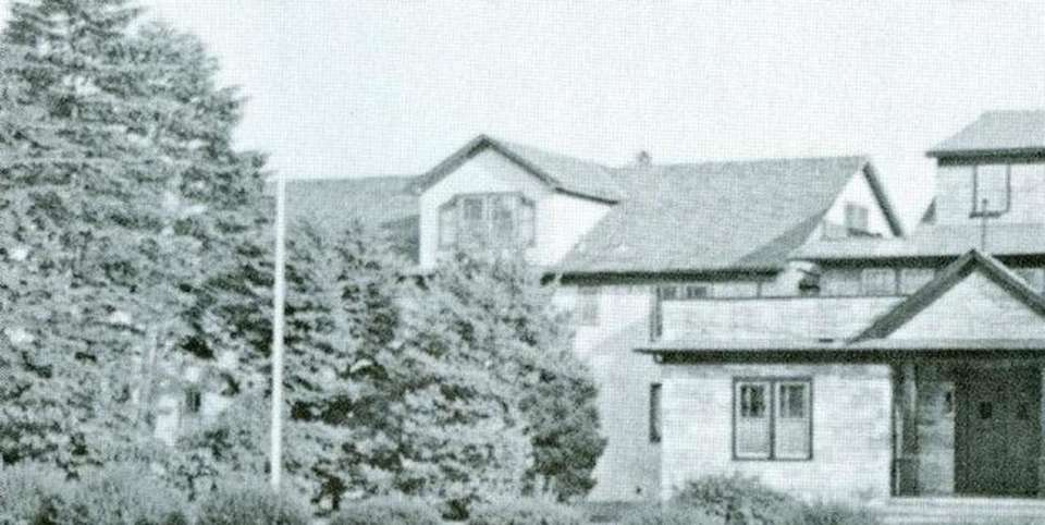 Ursuline Convent, before the 1980 fire. The Sisters