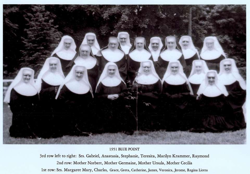 1951 at the Ursula Convent. The Sisters purchased