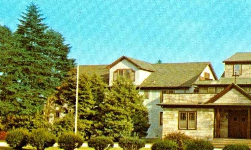 Postcard of the Ursuline Convent, before the 1980