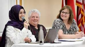 Zuleyha Colak, Sister Vicki Toale and Rabbi Sheila