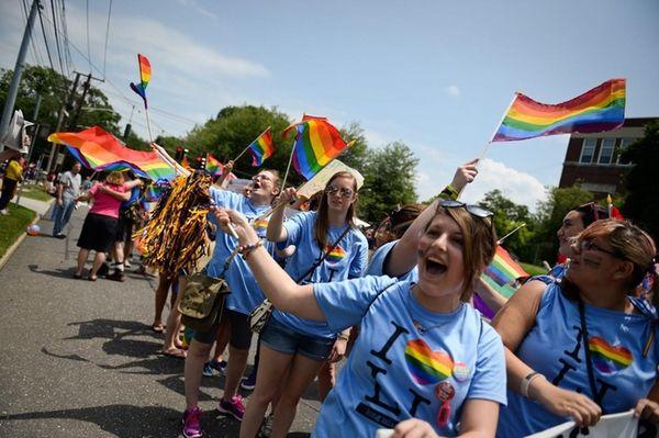 Long Island Pridefest, seen here on Saturday, June