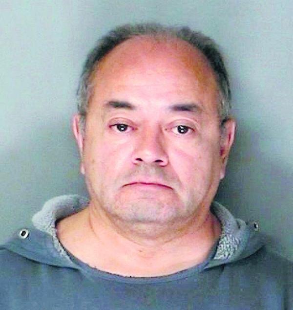 Cesar Gonzales-Mugaburu, of Ridge, is on trial, accused