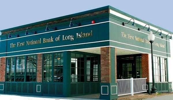 First National Bank of Long Island said Monday,