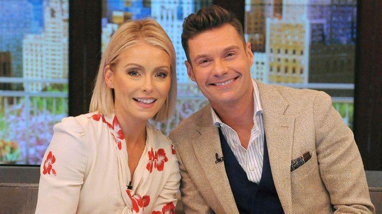 Kelly Ripa introduced co-host Ryan Seacrest on
