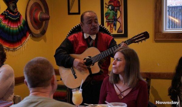 On Cinco de Mayo, mariachi bands will serenade