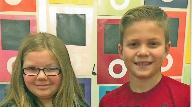 Kidsday reporters Kaylee Weber and Anthony Traube of