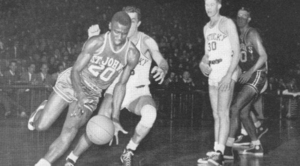 Former St. John's University basketball great Solly Walker,