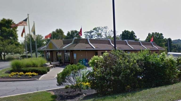 An undated Google view of the McDonald's in