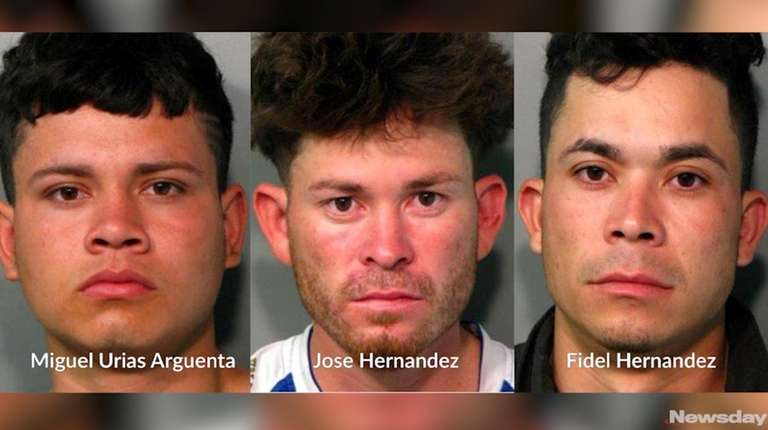 Three MS-13 gang members -- two of them