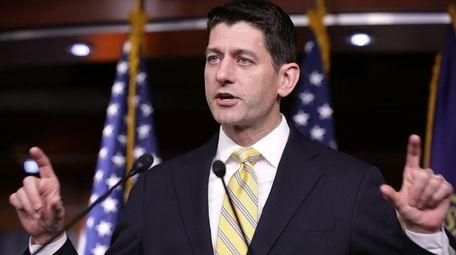 Speaker of the House Paul Ryan talks