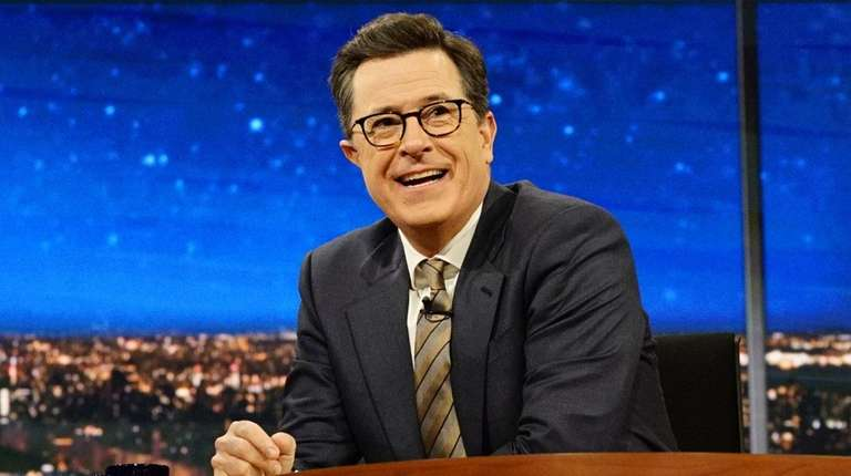 Stephen Colbert went after the president on Monday,