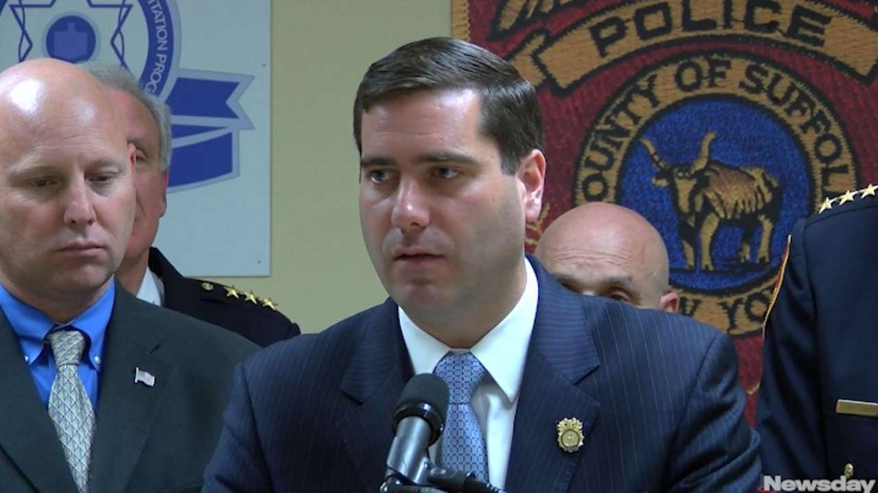 Suffolk County Police Commissioner Timothy Sini said on