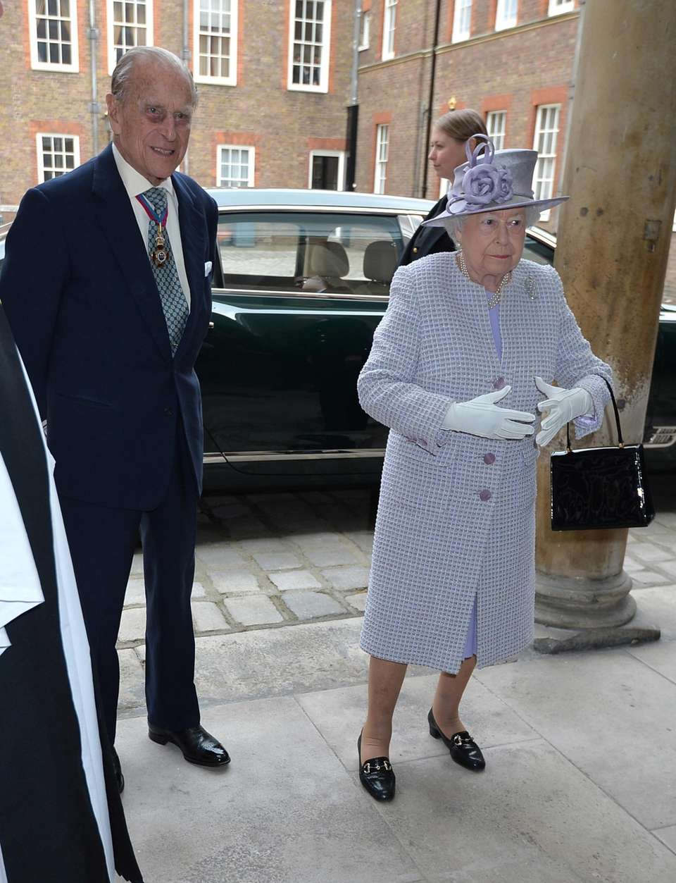 Prince Philip, the Duke of Edinburgh, and Queen