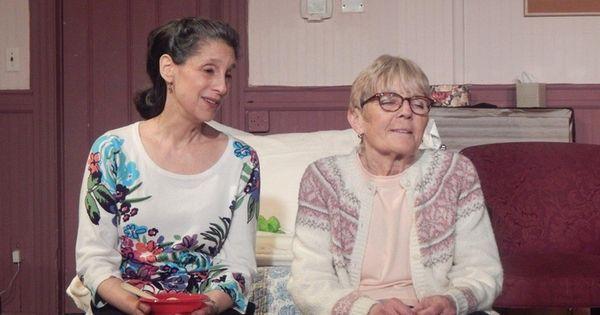 Judy Rovinsky McCormick, left, and Lisa Meckes spar