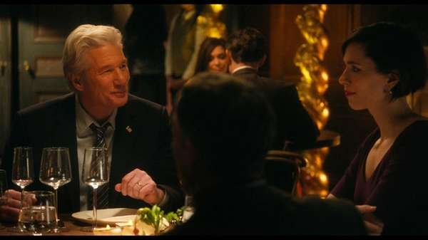 Richard Gere and Rebecca Hall in