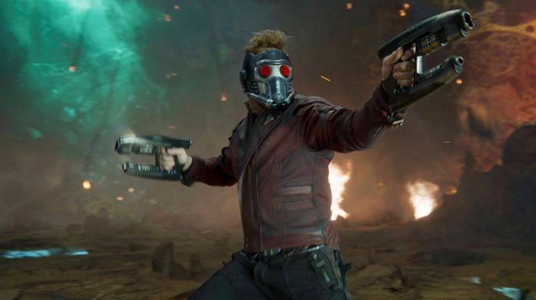 Chris Pratt is an intergalactic gun for hire