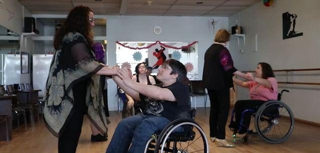 Roll Call Wheelchair Dance is an organization devoted
