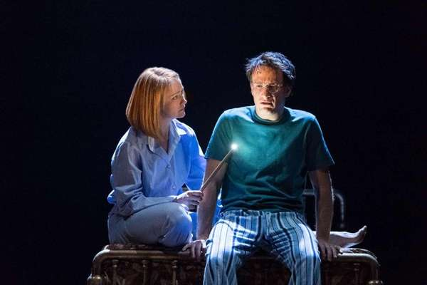 In a London stage production, Poppy Miller stars