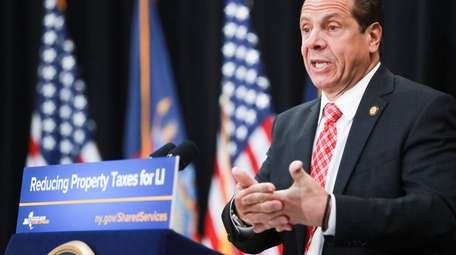Gov. Andrew M. Cuomo talked about joint efforts