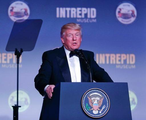 President Donald Trump will return to New York