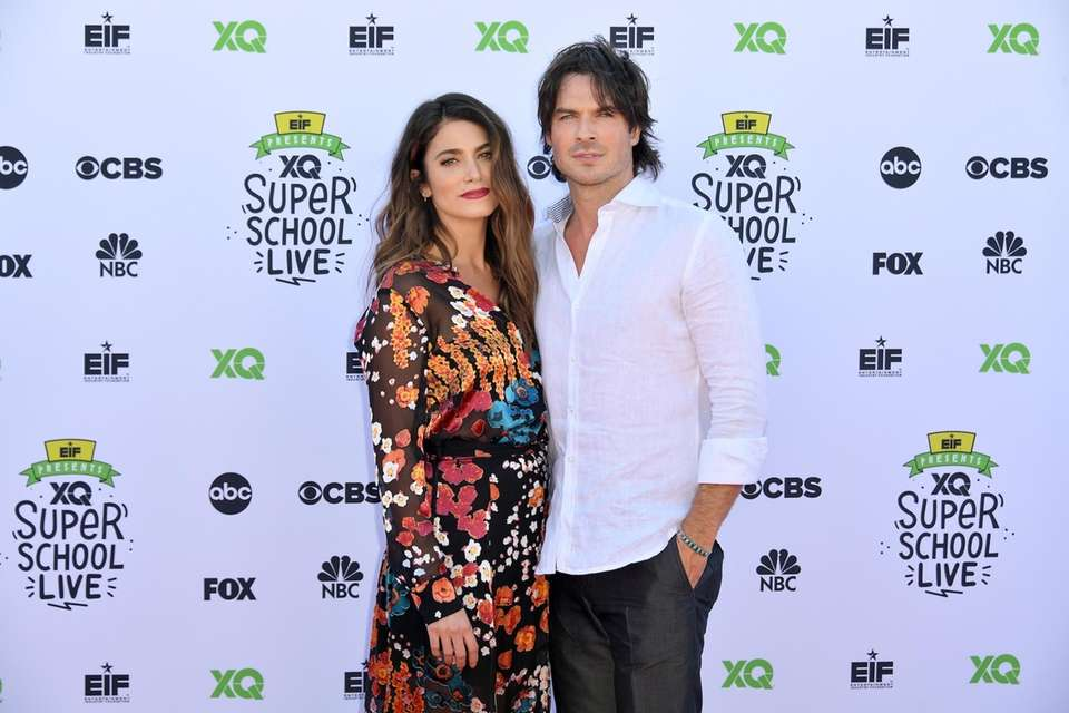 Nikki Reed and Ian Somerhalder announced on Thursday,