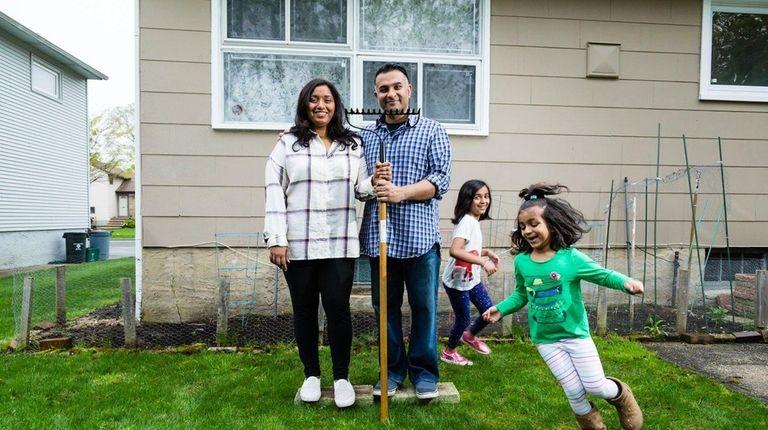Sweena Varghese, 39, and her husband Joe, 38,
