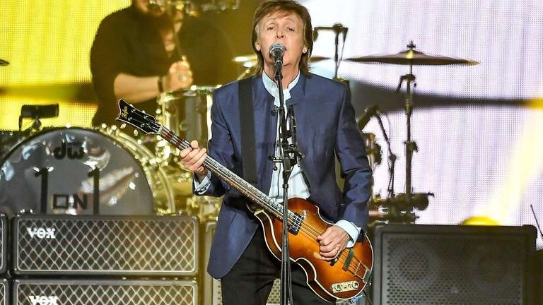 Paul McCartney is booked for concerts at