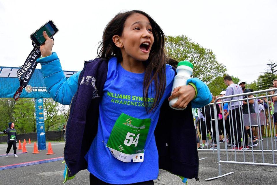 Isabella Correa, 11, of Oakland Gardens in Queens,