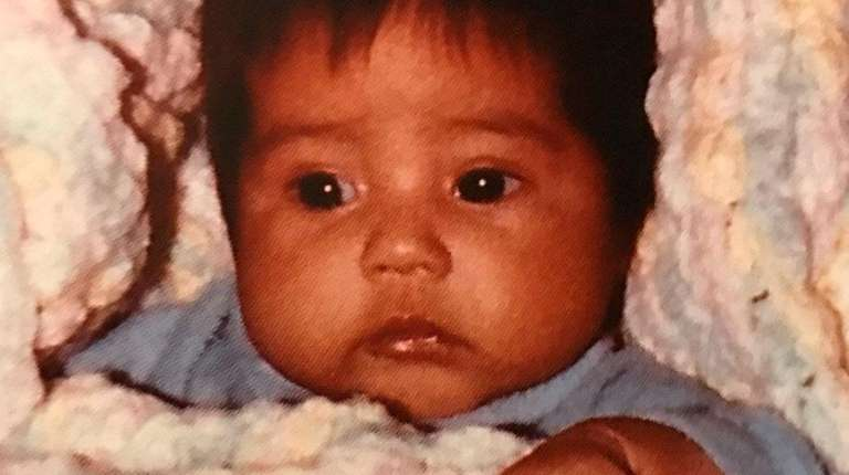 Jennifer Milian as an infant. She was adopted