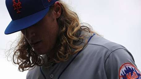 Starting pitcher Noah Syndergaard of the New York