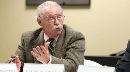 Babylon Village Mayor Ralph Scordino is seen on