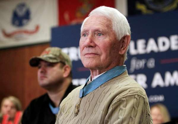 Thorsness, a Medal of Honor recipient, later ran