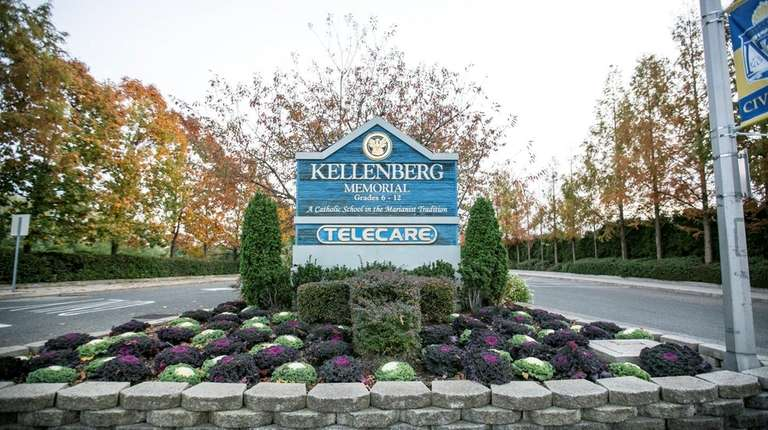 The sign at the entrance to Kellenberg Memorial