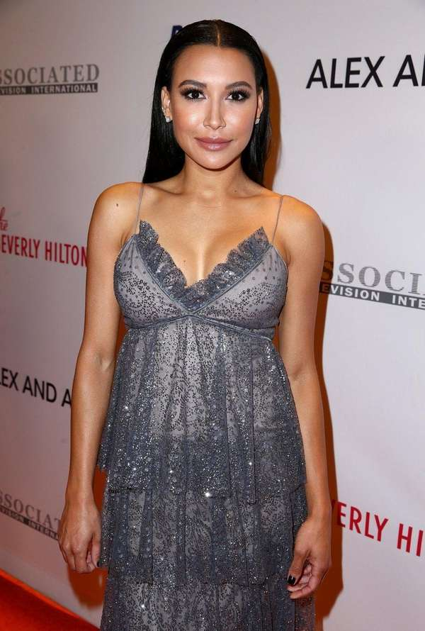 Actress Naya Rivera attends the 24th Annual Race