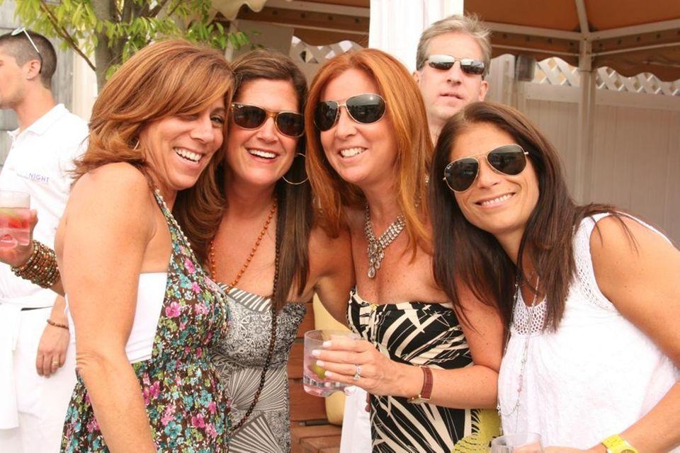 Marcy Fasciglione, Sydnie Godman, Cindy Leff and Lisa