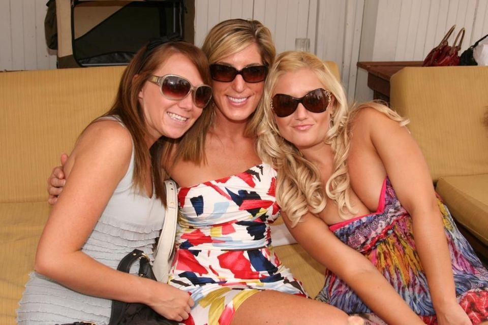 Jill Trentham, Kristina Guecleno and Hillary Mackenzie at