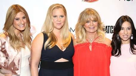Goldie Hawn and Amy Schumer joined Denise Albert