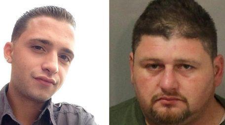 Jonathan Sobrane, right, 38, of Freeport, was sentenced