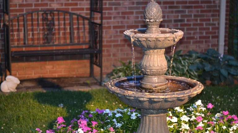 Adding a fountain to your backyard can be