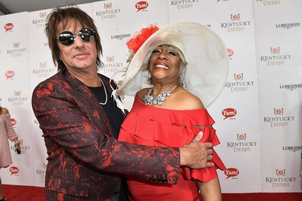 Richie Sambora and Mary Wilson attend the 143rd